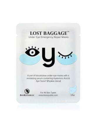 Lost Baggage Under Eye Emergency Repair Mask, 1 Pair