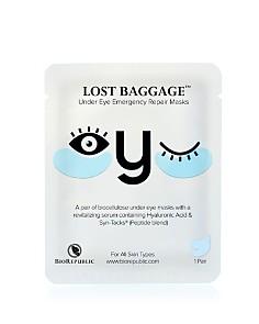 BioRepublic - Lost Baggage Under Eye Emergency Repair Mask, 1 Pair