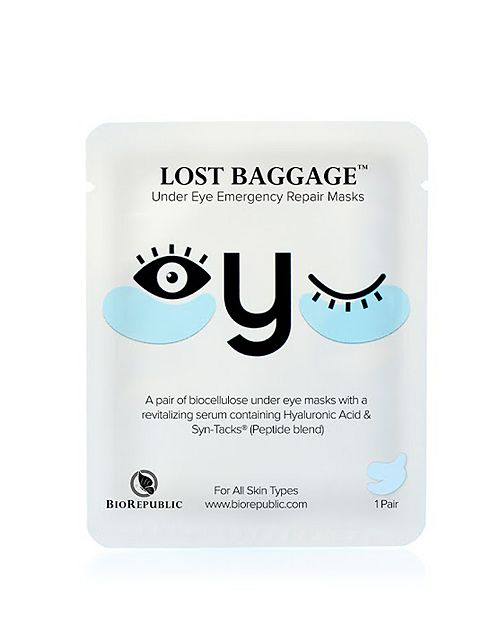 BioRepublic - Lost Baggage Under Eye Emergency Repair Mask