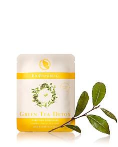 BioRepublic Green Tea Detox Purifying Fiber Sheet Mask, 1 Mask - Bloomingdale's_0