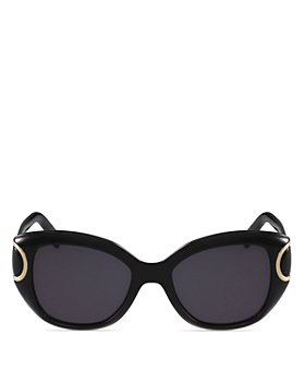 Salvatore Ferragamo - Women's Signature Cat Eye Sunglasses, 54mm