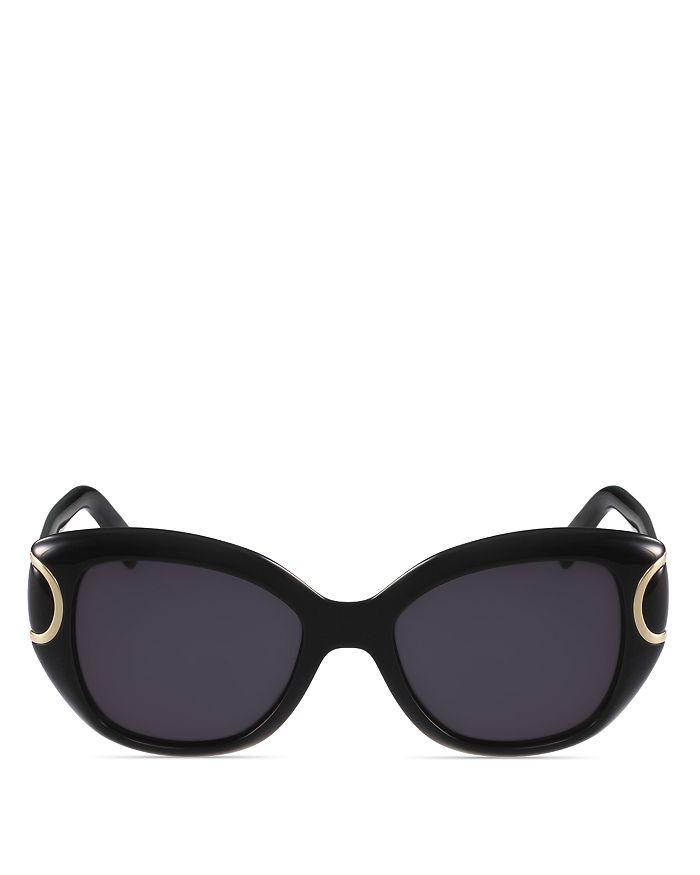 a61e01a54bab0 Salvatore Ferragamo - Women s Signature Cat Eye Sunglasses