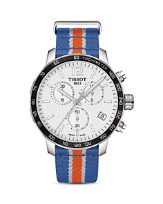 Tissot - New York Knicks Quickster Stainless Steel Chronograph, 42mm