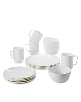 Hudson Park Collection - Coupe 16 Piece Dinnerware Set - 100% Exclusive