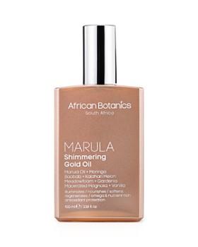 African Botanics - Marula Shimmering Gold Oil