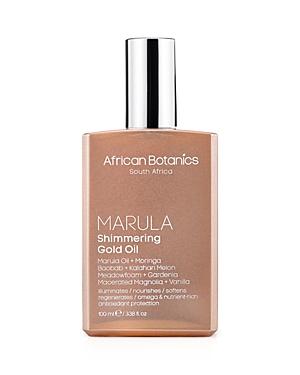 African Botanics Marula Shimmering Gold Oil