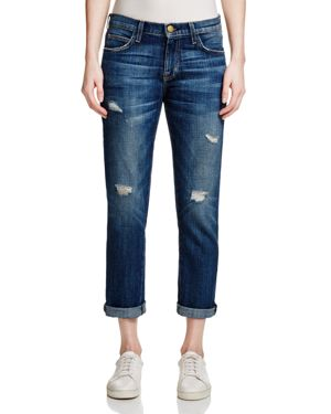 Current/Elliott The Fling Boyfriend Jeans in Loved Destroyed