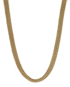 """Bloomingdale's - Woven Necklace in 14K Yellow Gold, 18"""" - 100% Exclusive"""