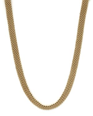 Woven Necklace in 14K Yellow Gold, 18 - 100% Exclusive