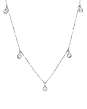 "Crislu - Shimmering Necklace, 16"""