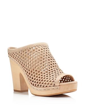 Dolce Vita Brooks Woven Platform Slide Sandals