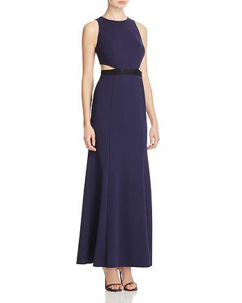 Decode 1.8 - Cutout Waist Lace Paneled Gown