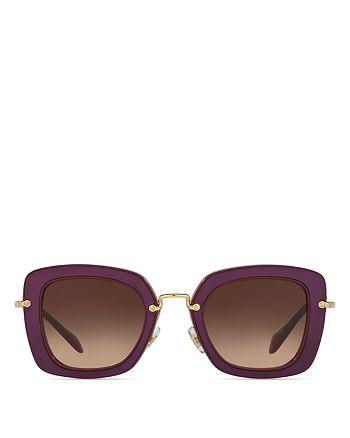 Miu Miu - Women's Oversized Square Sunglasses, 52mm