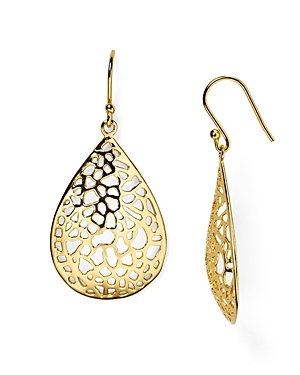 Argento Vivo Lace Teardrop Earrings