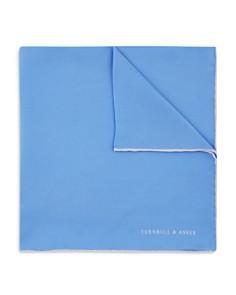 Turnbull & Asser Plain Solid Pocket Square - Bloomingdale's_0