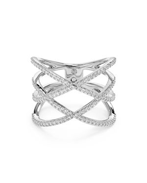 Nadri Basketweave Ring