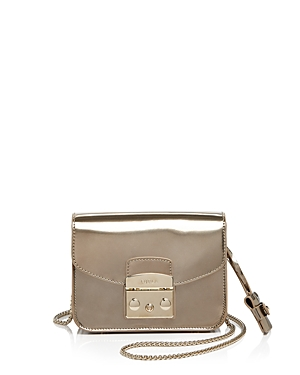 Furla Metropolis Metallic Mini Crossbody