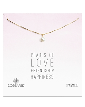 Dogeared Cultured Freshwater Pearl Necklace, 18