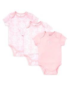 Little Me Girls' Damask Scroll Bodysuit, 3 Pack - Baby - Bloomingdale's_0