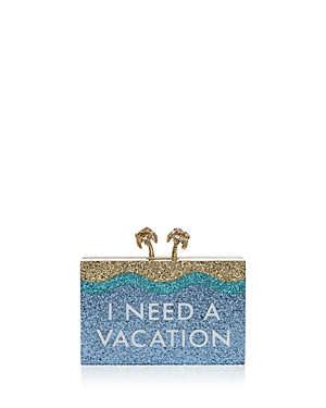 kate spade new york I Need A Vacation Clutch
