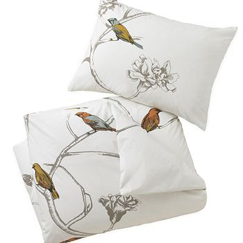 DwellStudio - Chinoiserie Duvet Cover, Full/Queen