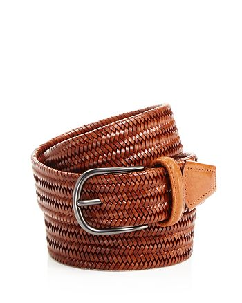 Anderson's - Men's Leather Braid Belt