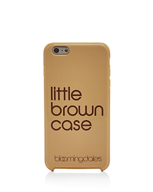Bloomingdale's Little Brown iPhone 7/8 & iPhone 7/8 Plus Case