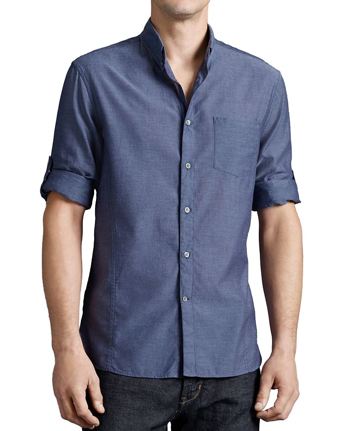 John Varvatos Star USA - Basic Button-Down Shirt - Slim Fit