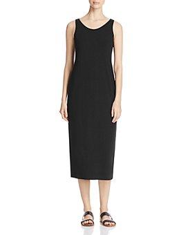 Eileen Fisher - Scoop Neck Midi Tank Dress, Regular & Petite