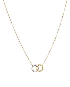 "Marco Bicego - Delicati Diamond Jaipur Link Necklace, 16.5"""