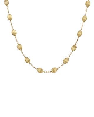 SIVIGLIA COLLECTION MEDIUM BEAD GOLD NECKLACE, 16
