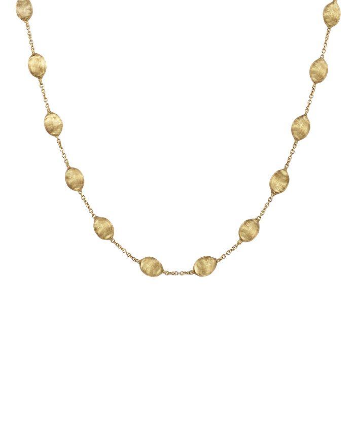 """Marco Bicego - """"Siviglia Collection"""" Medium Bead Gold Necklace, 16"""""""