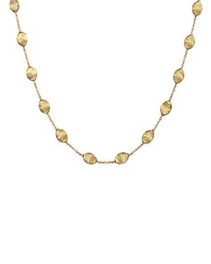 Marco Bicego Siviglia Collection Medium Bead Gold Necklace, 16