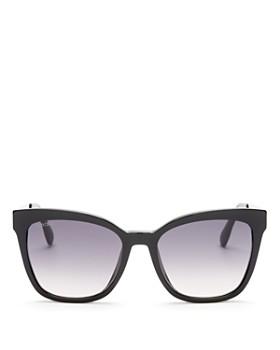 Jimmy Choo - Women's Junia Oversized Square Sunglasses, 55mm