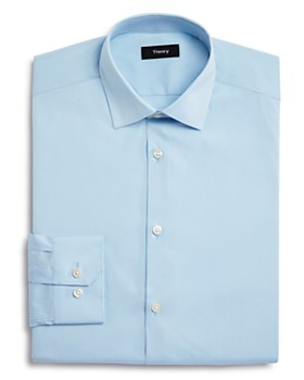 Theory - Basic Solid Regular Fit Dress Shirt