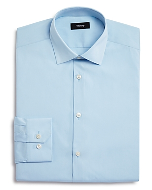 Theory Basic Solid Regular Fit Dress Shirt