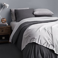 Calvin Klein Modern Cotton Jersey Body Solid Bedding Collection - Bloomingdale's_0