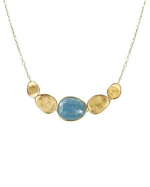 Click here for Marco Bicego Lunaria Half Collar Necklace in 18K Y... prices