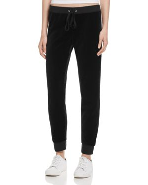 Juicy Couture Black Label Zuma Velour Jogger Pants