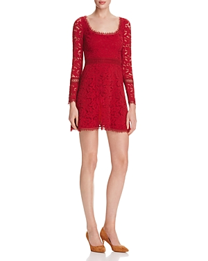 N Nicholas Lace Fit And Flare Dress - 100% Exclusive