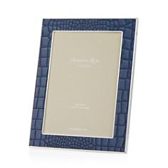 Addison Ross - Faux Croc Blue 5x7 Frame