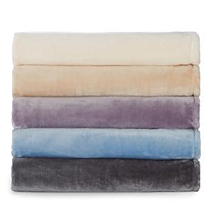 Melange Home Bliss Velvet Fleece Blanket, Twin