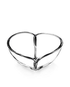 Orrefors - Large Heart Bowl