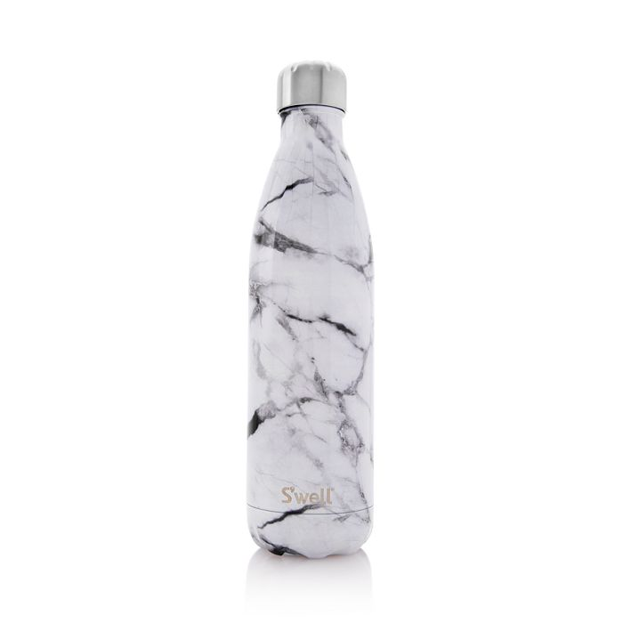S'well - White Marble Bottles