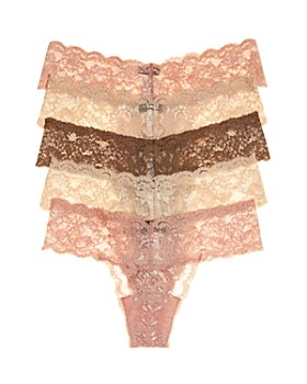Cosabella - Never Say Never Cutie Low-Rise Thongs, Set of 5