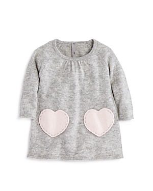 Bloomies Girls Cashmere Heart Pockets Dress Baby  100 Exclusive