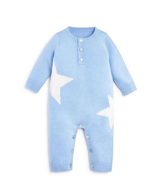 Bloomie's - Boys' Cashmere Stars Intarsia Coverall, Baby - 100% Exclusive