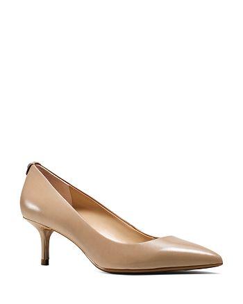 shoes for cheap reasonable price promo codes MICHAEL Michael Kors MICHAEL MK Flex Kitten Heel Pumps ...