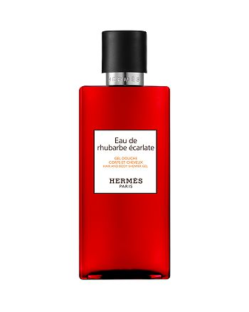 HERMÈS - Eau de rhubarbe écarlate Perfumed Bath & Shower Gel 6.7 oz.