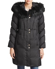 Via Spiga - Smocked Waist Puffer Coat